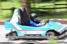 Go-Cart racing at Camp Kulaqua Retreat and Conference Center, FL