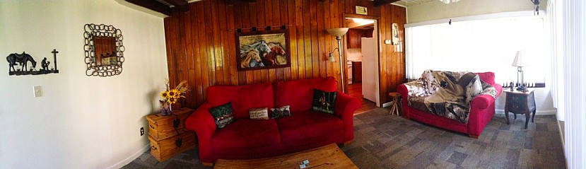 Ranch House Living Room at Camp Kulaqua Retreat and Conference Center, FL