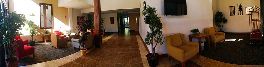 Lobby of Woodland Lodge at Camp Kulaqua Retreat and Conference Center, FL
