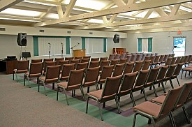 Live Oak Auditorium at Pine Lake Retreat Center, FL