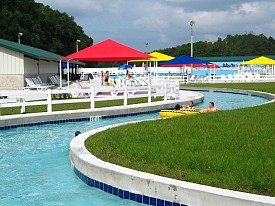 River Ranch Water Park Lazy River at Camp Kulaqua Retreat and Conference Center, FL
