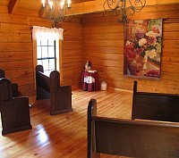 Inside of Prayer Chapel at Camp Kulaqua Retreat and Conference Center, FL