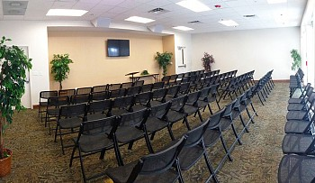 Woodland Lodge Seminar Room at Camp Kulaqua Retreat and Conference Center, FL