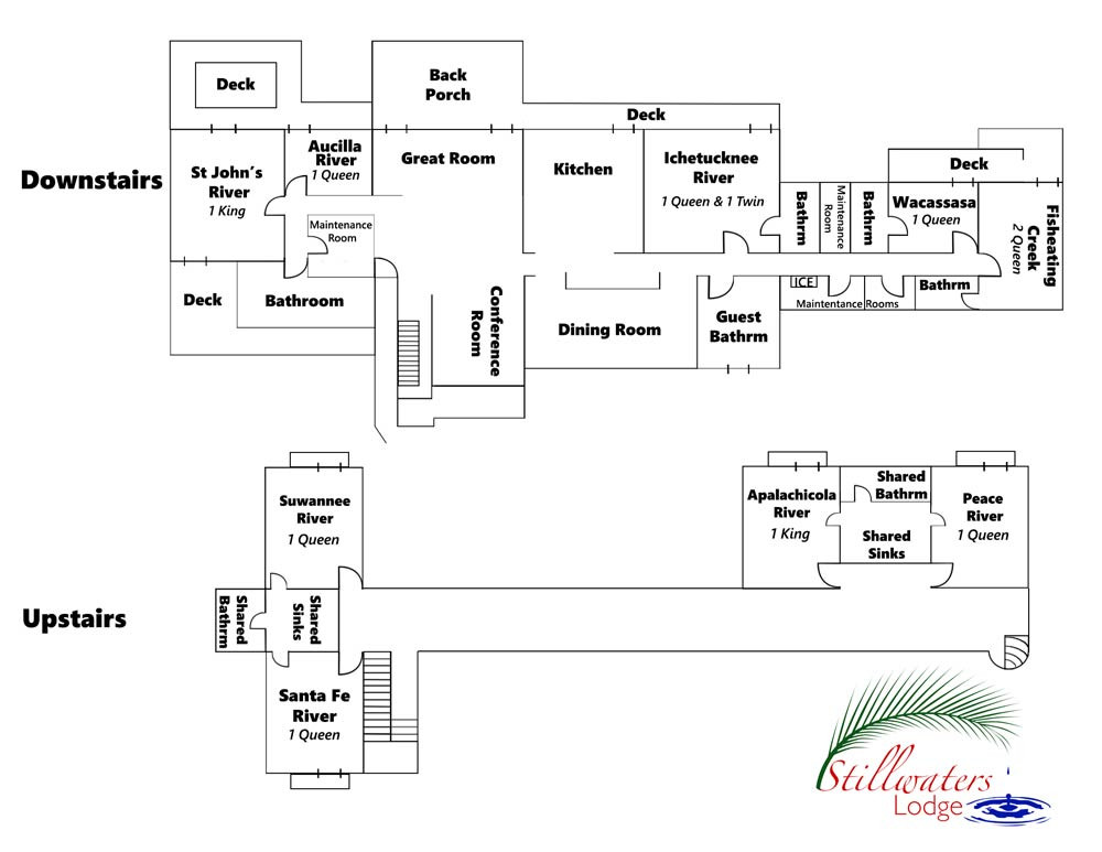 Floor Plan Room Configuration Christian Retreat And